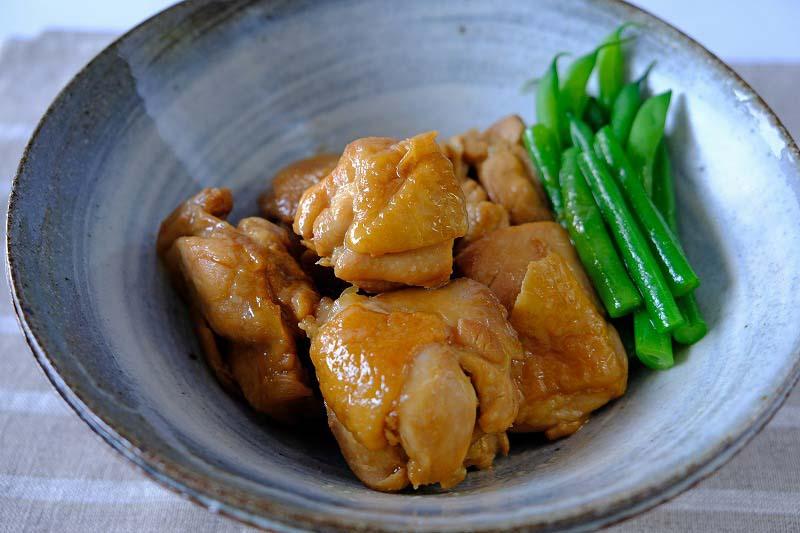 もも肉 さっぱり 煮 鶏